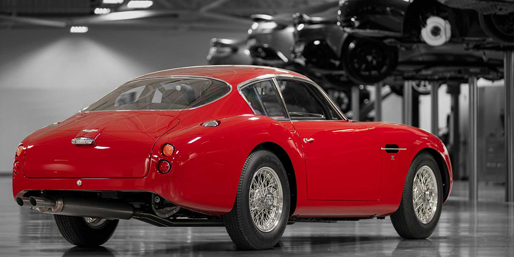 Aston Martin возродил классический DB4 Zagato 2