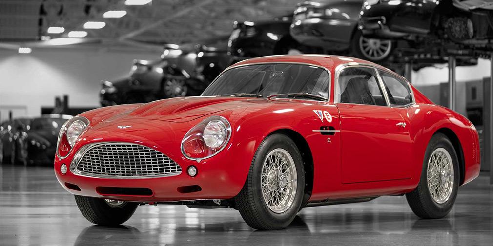 Aston Martin возродил классический DB4 Zagato 1