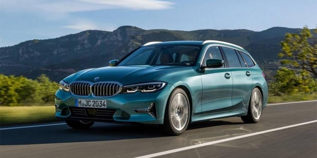 Новый универсал BMW 3-Series рассекретили до премьеры 1