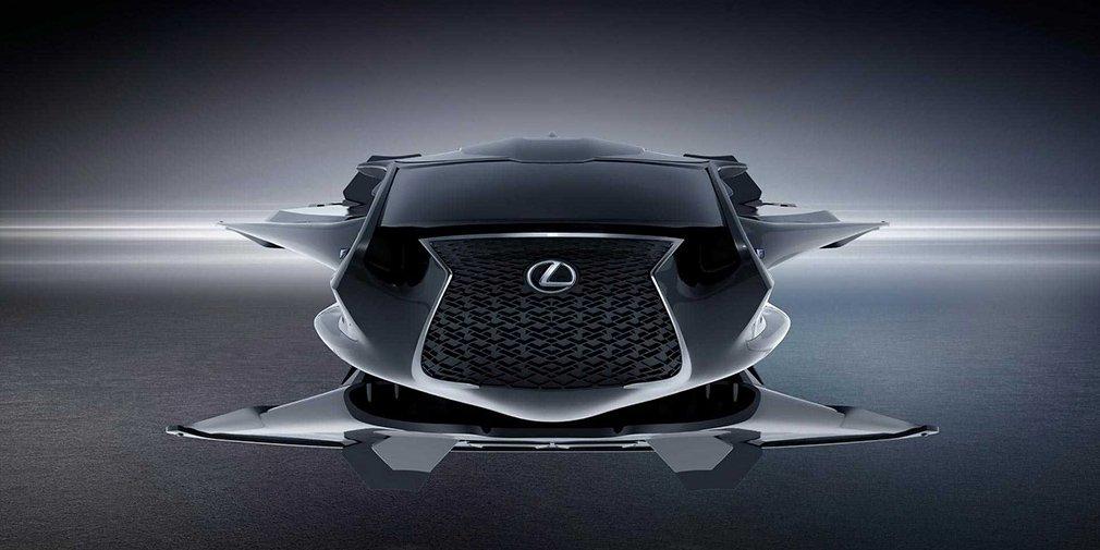 Lexus показал космический автомобиль для новых «Людей в черном» 1