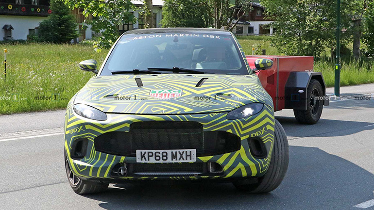 Aston Martin готовит первый в своей истории внедорожник DBX 1