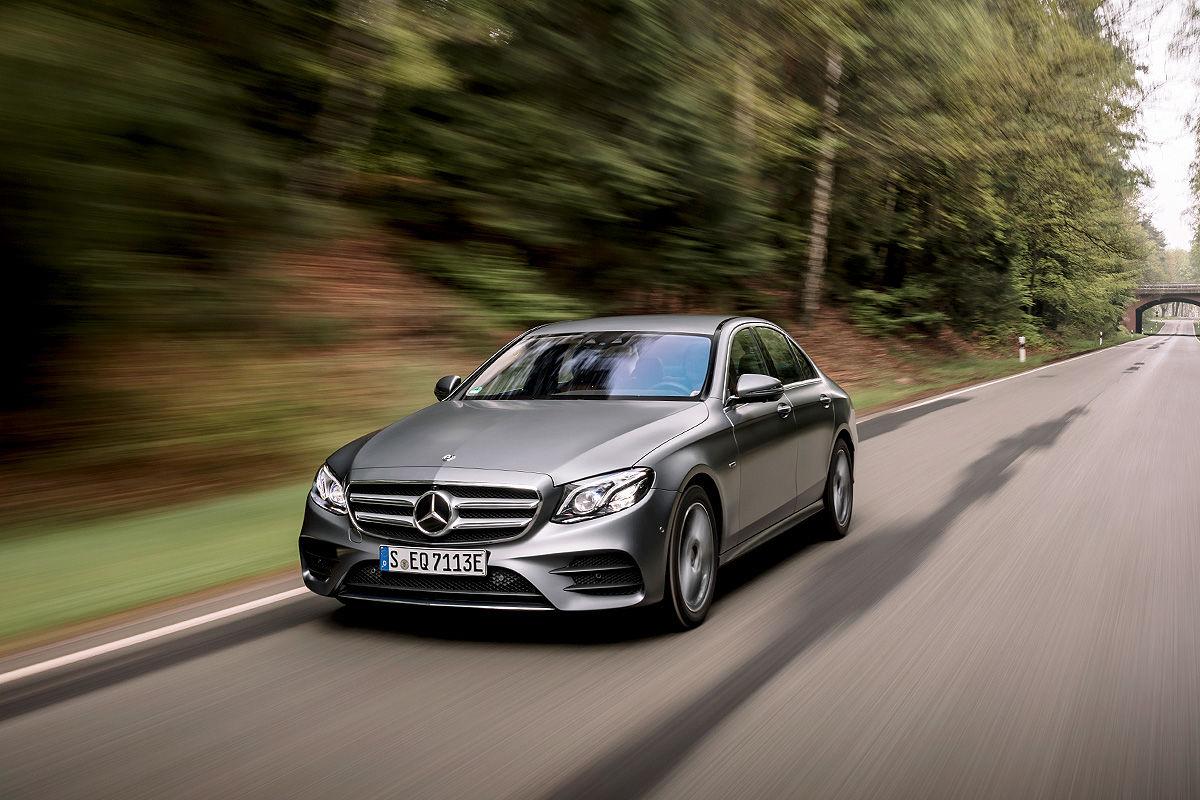Тест-драйв дизель-гибридного Mercedes-Benz Е-класса 1
