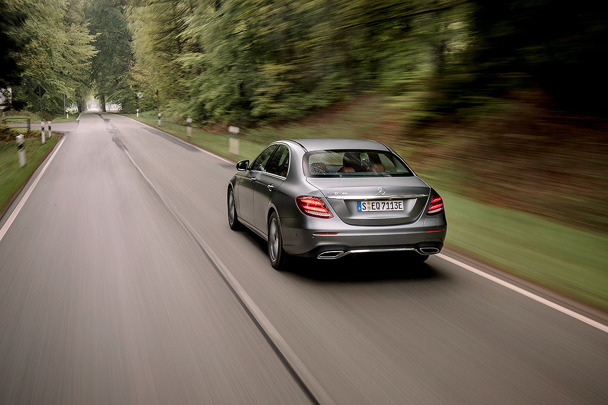 Тест-драйв дизель-гибридного Mercedes-Benz Е-класса 2