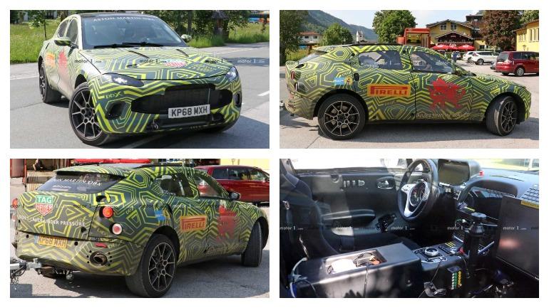 Aston Martin готовит первый в своей истории внедорожник DBX 2