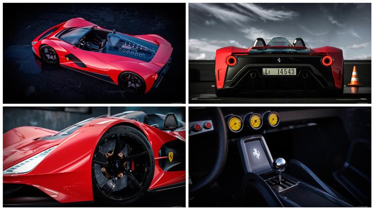 В сети опубликованы рендеры новейшей Ferrari Aliante 1