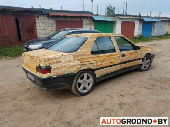 Водитель сделал из седана Peugeot натуральный «паркетник» 1