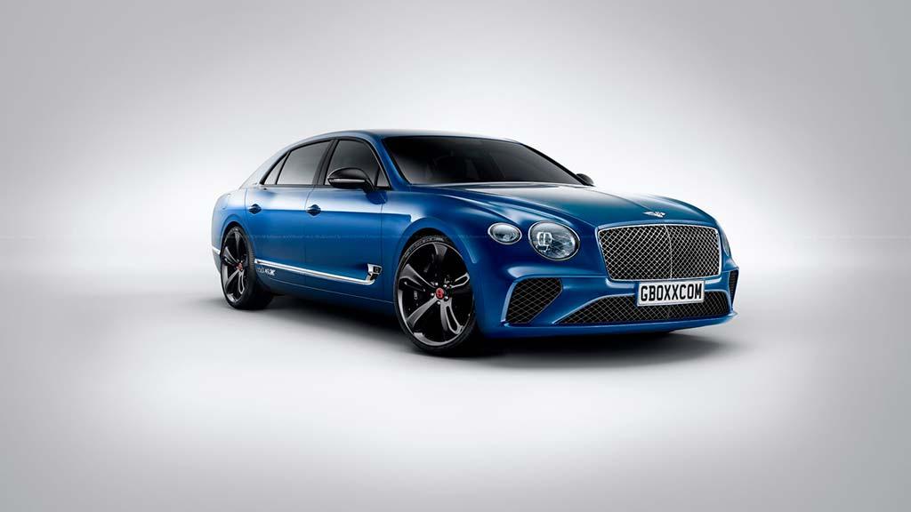Представлен новый Bentley Flying Spur 1