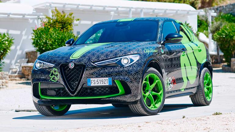 Alfa Romeo готовит особую версию кроссовера Stelvio 1