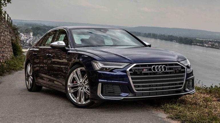 Новый седан Audi S6 показали на видео 1