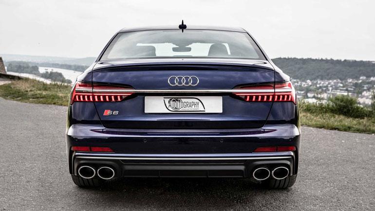 Новый седан Audi S6 показали на видео 2