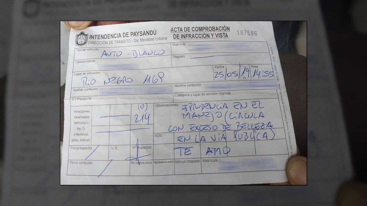 В Уругвае женщине выписали штраф за то, что она слишком красивая 1