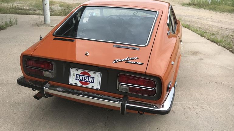 На продажу выставлен 50-летний Datsun 240Z почти за 125 тысяч долларов 2