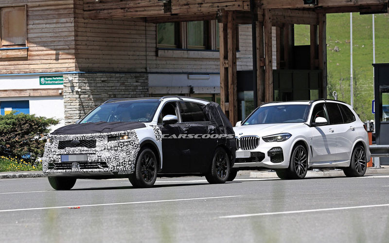 Kia Sorento нового поколения копируют с BMW X5 2