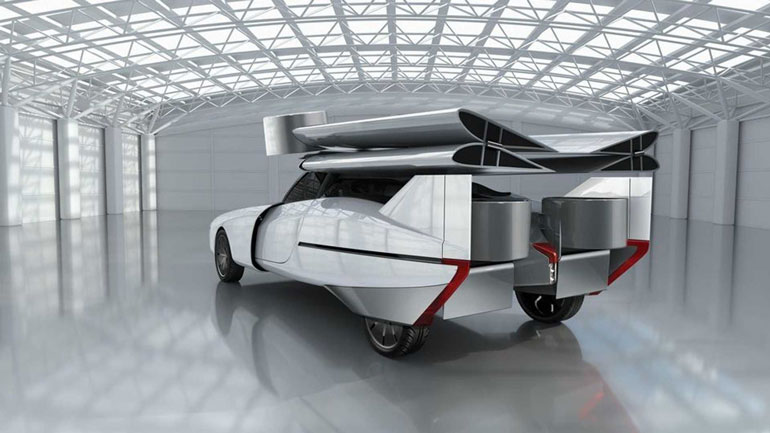 Стартап NFT представил гибридный летающий автомобиль Aska Concept 2