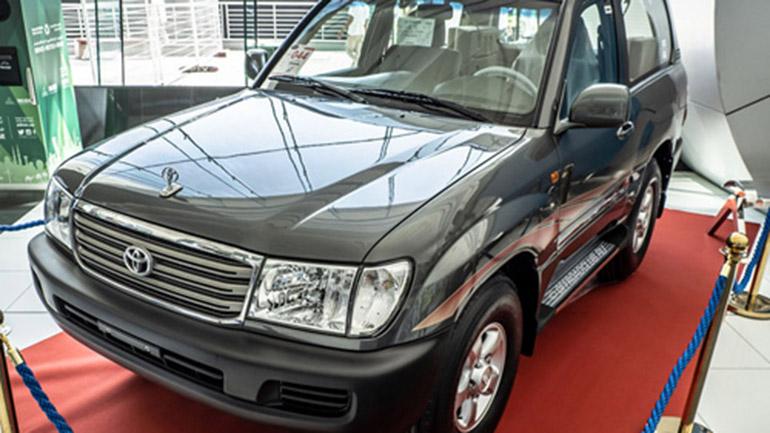 Укороченный внедорожник Toyota Land Cruiser показали в Дубае 1