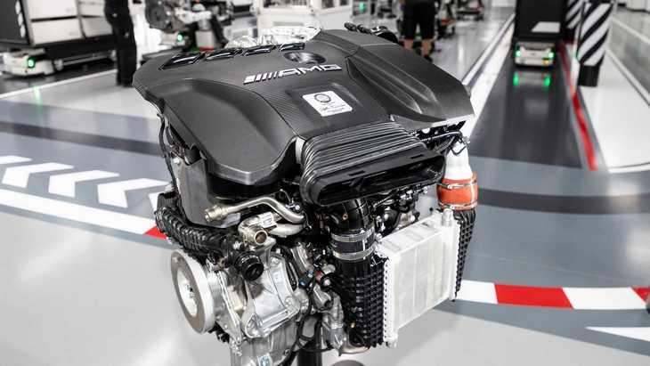 Mercedes-AMG разработал новый 4-цилиндровый мотор на 415 лошадей 1
