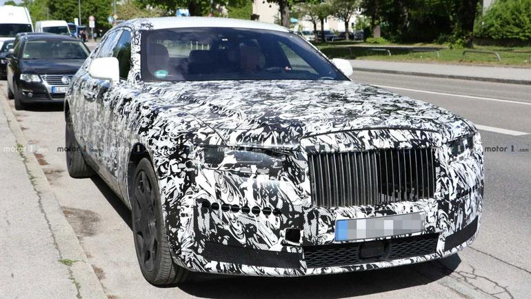 Новый Rolls-Royce Ghost получит революционный дизайн 1