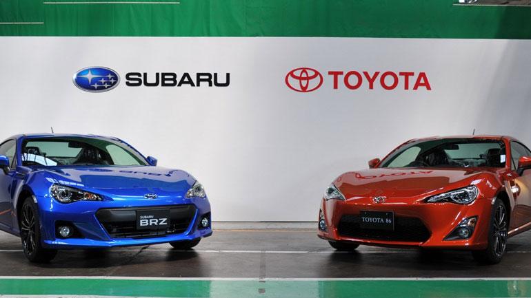 Toyota и Subaru займутся созданием совместной платформы для электрокаров 1