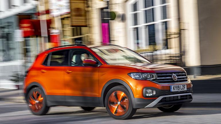 Volkswagen представил экономичную версию кроссовера T-Cross 1