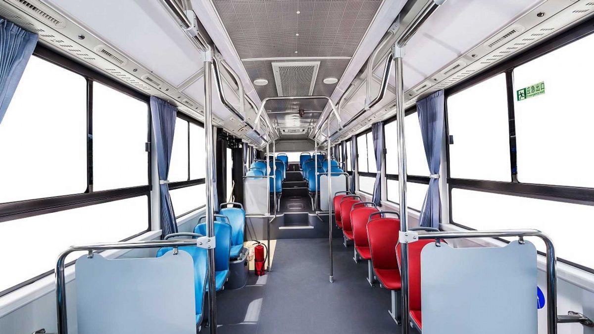 Показаны первые автобусы на водороде от Geely 4
