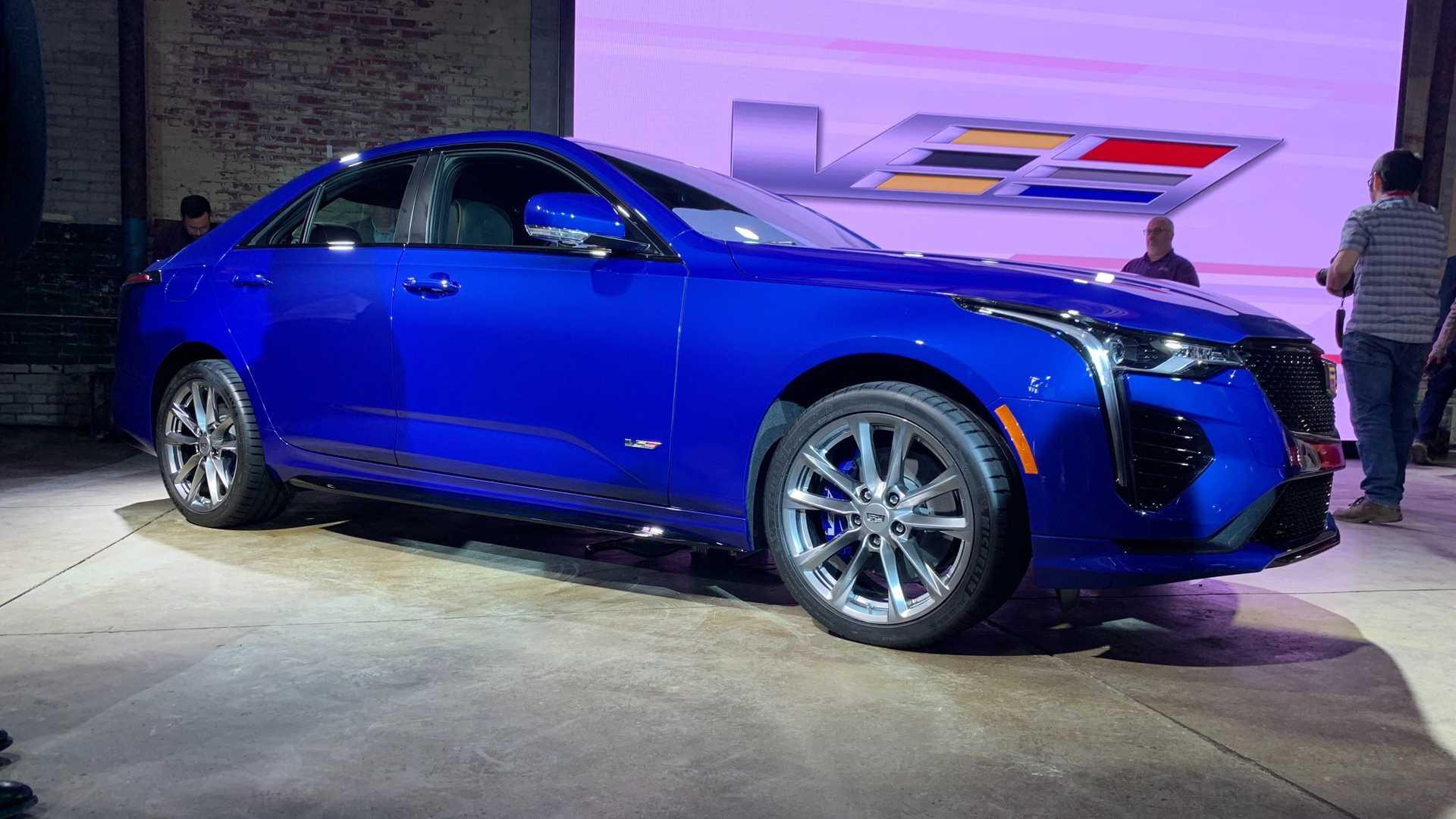 Самые спортивные Cadillac могут получить название Blackwing 1