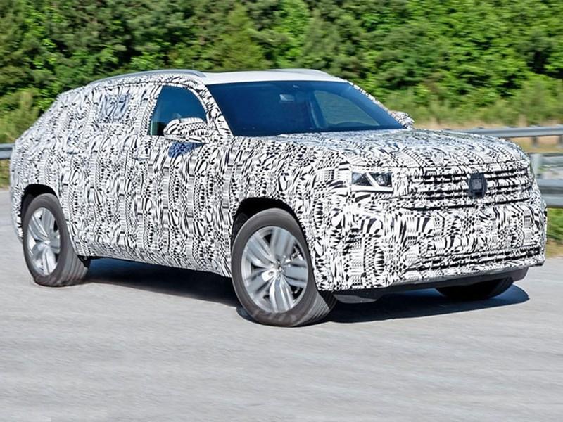 Volkswagen Teramont Х заметили на тестах 1