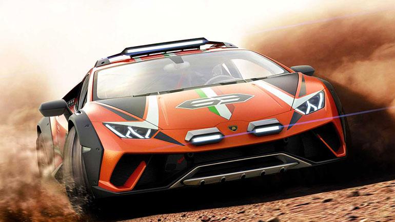 Lamborghini показала вседорожный Huracan Sterrato 1