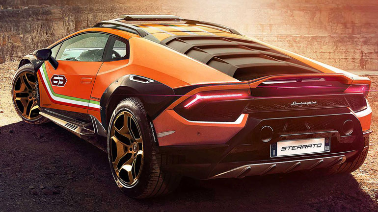 Lamborghini показала вседорожный Huracan Sterrato 2