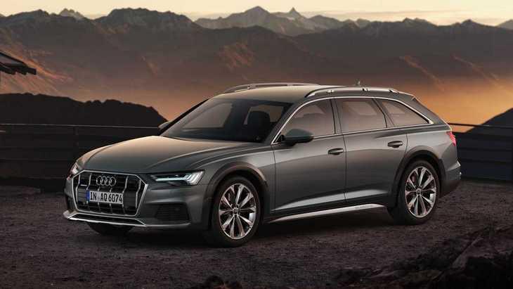 Audi представила внедорожную версию A6 Allroad 1