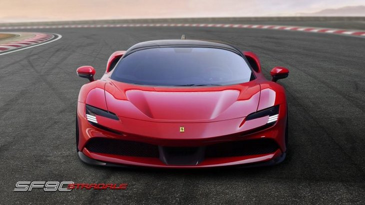 Цена нового Ferrari просочилась в прессу 1