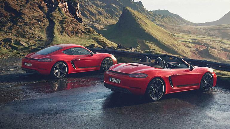 Porsche официально презентовал 718 Cayman T 1