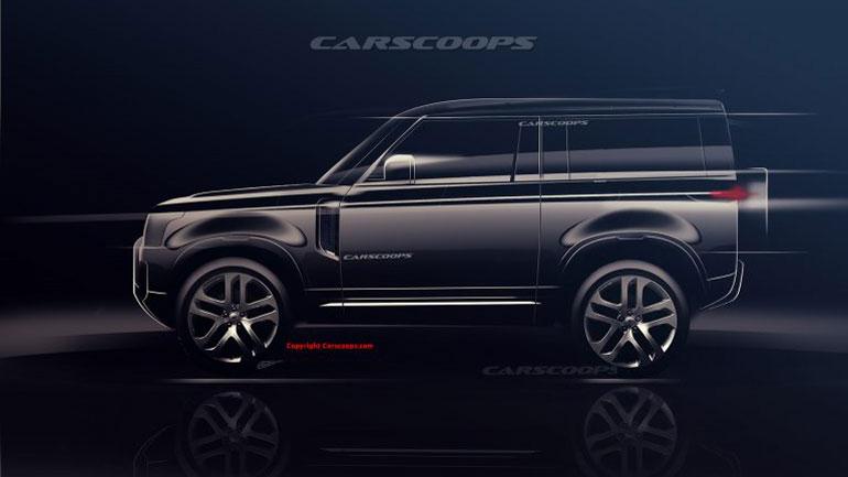 Land Rover Defender получит традиционный «квадратный» дизайн 1