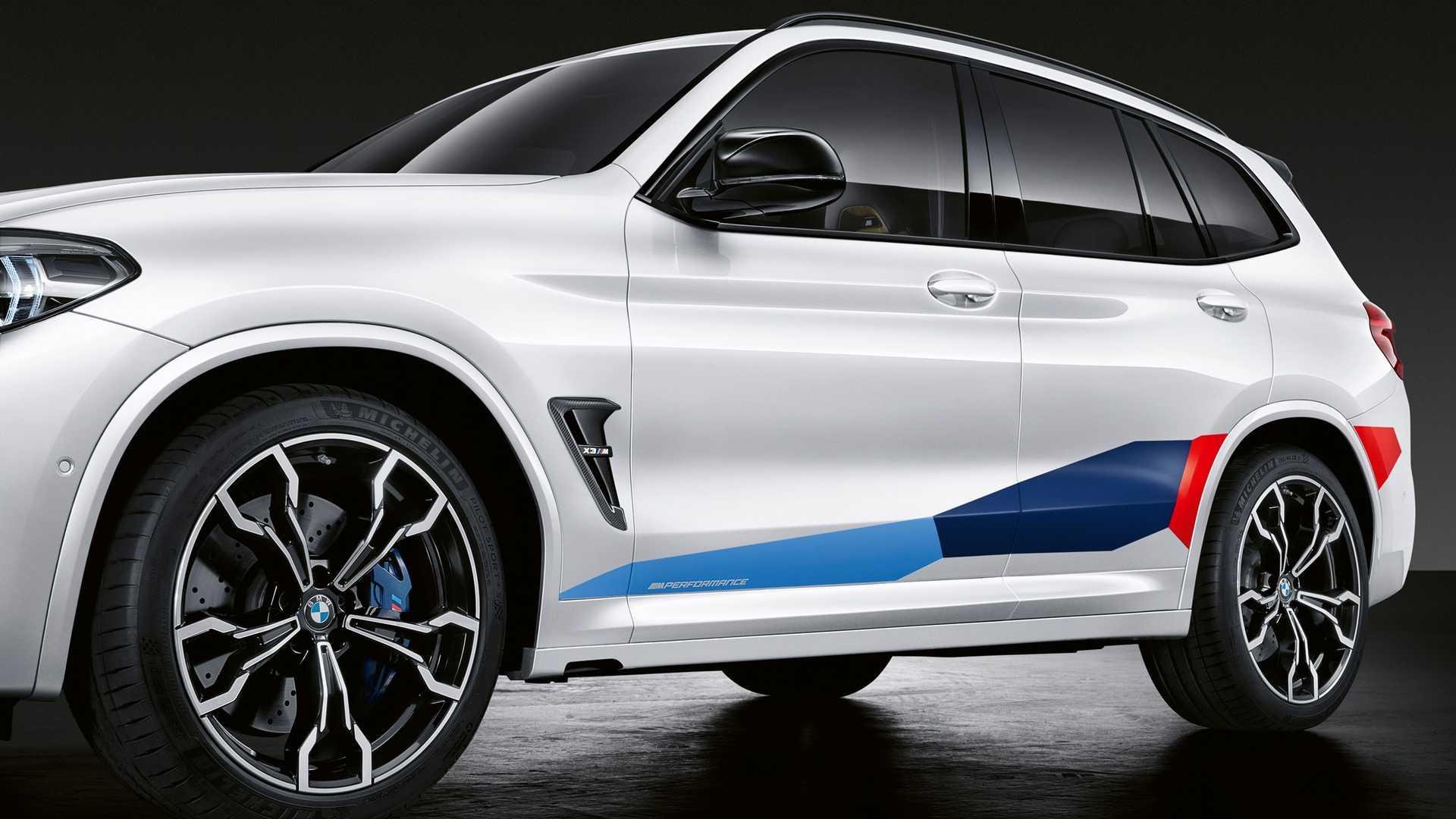BMW X3 M и X4 M получили тюнинг M Performance 1