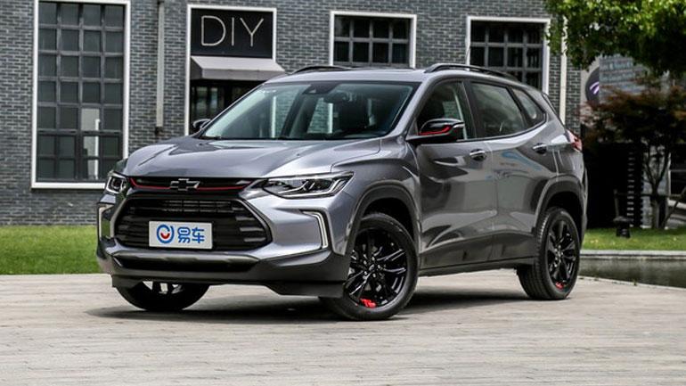 Новый Chevrolet Tracker покажут 5 июня 1