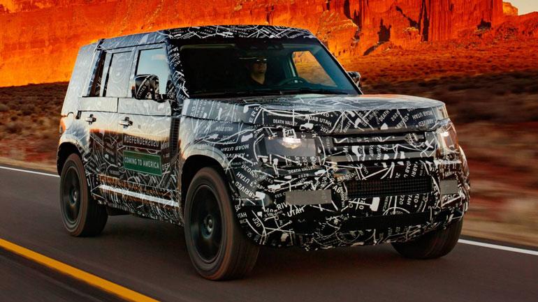 Land Rover Defender получит традиционный «квадратный» дизайн 2