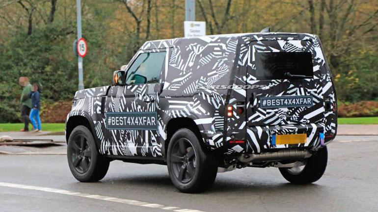 Land Rover Defender получит традиционный «квадратный» дизайн 3