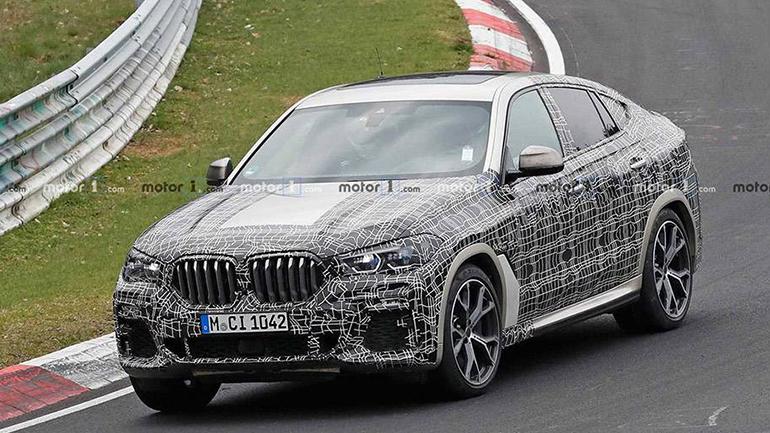 Новый BMW X6 M50i Spied замечен на Нюрбургринге 1