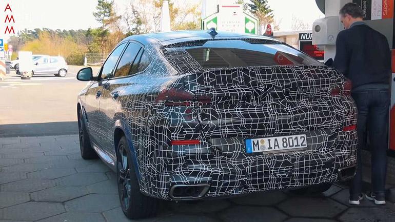 Новый BMW X6 M50i Spied замечен на Нюрбургринге 2