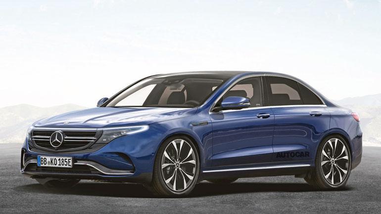 Mercedes-Benz выпустит электрический седан EQE в 2022 году 1