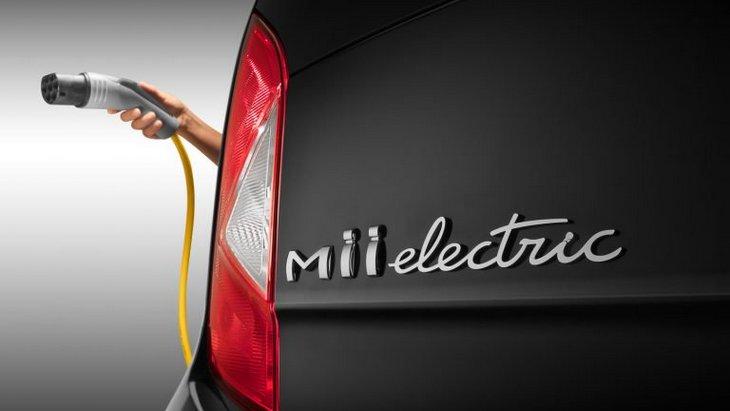 Seat показал первый тизер полностью электрической городской модели Mii 1