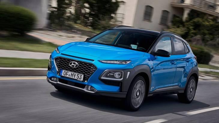 Hyundai представил гибридный кроссовер Kona для Европы 1