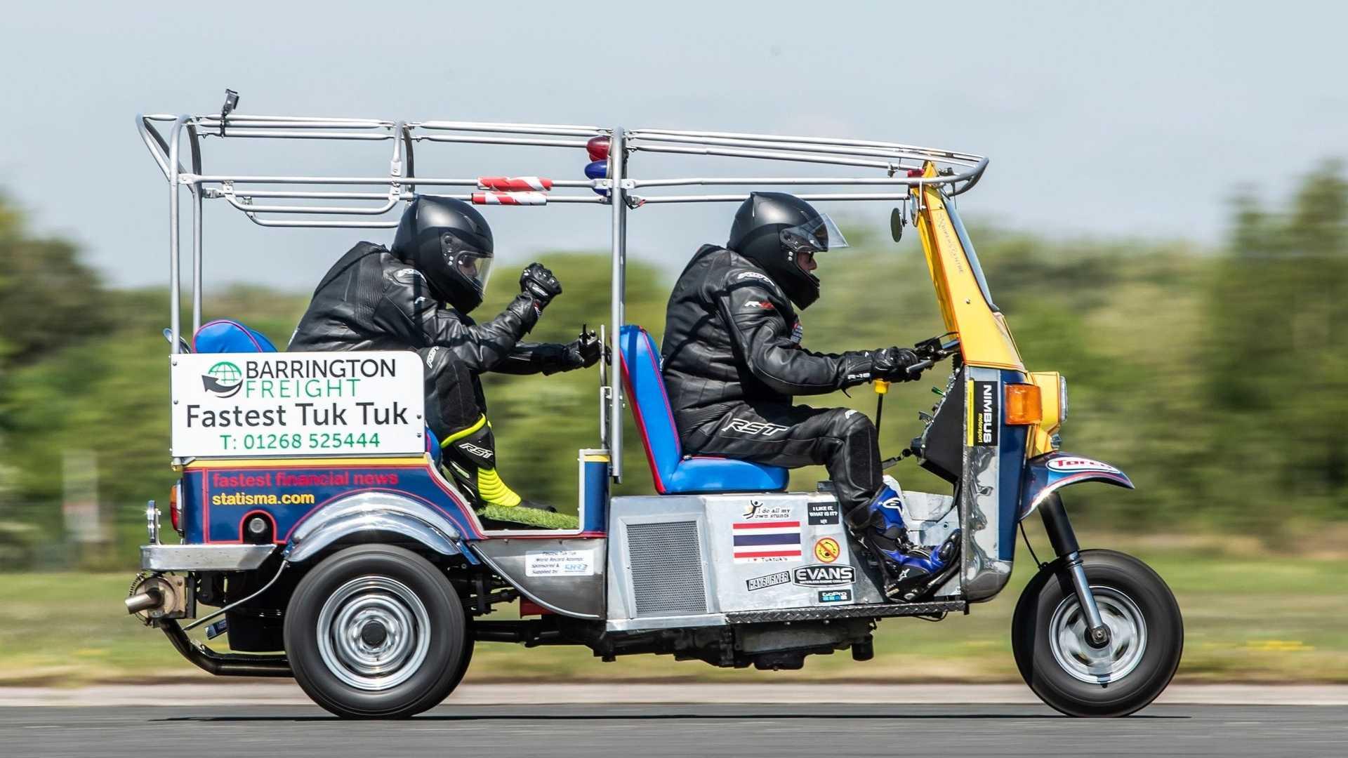 120 км/ч: новый мировой рекорд скорости на тук-туке 1