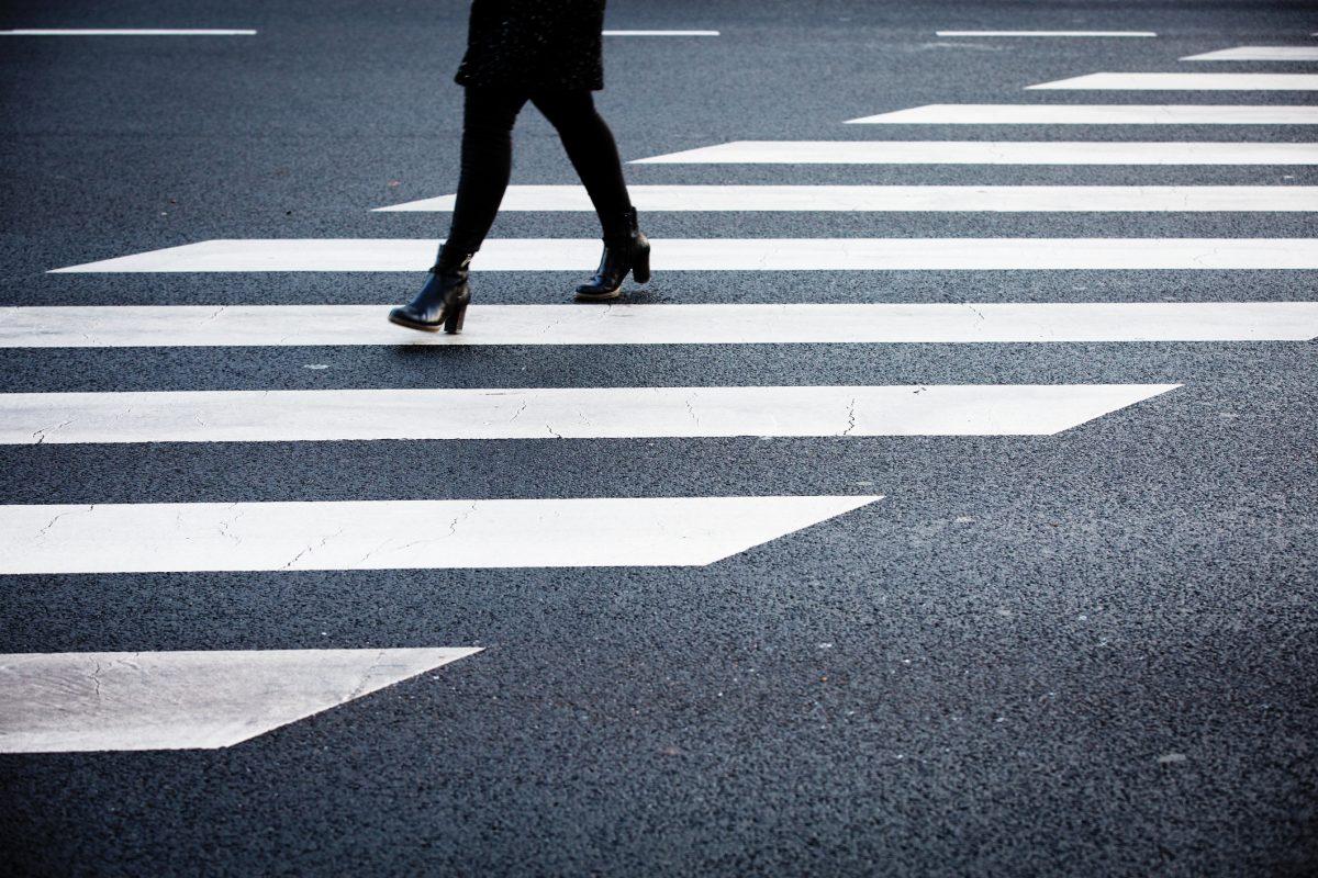 В Украине меняют направление полос разметки на дороге 1