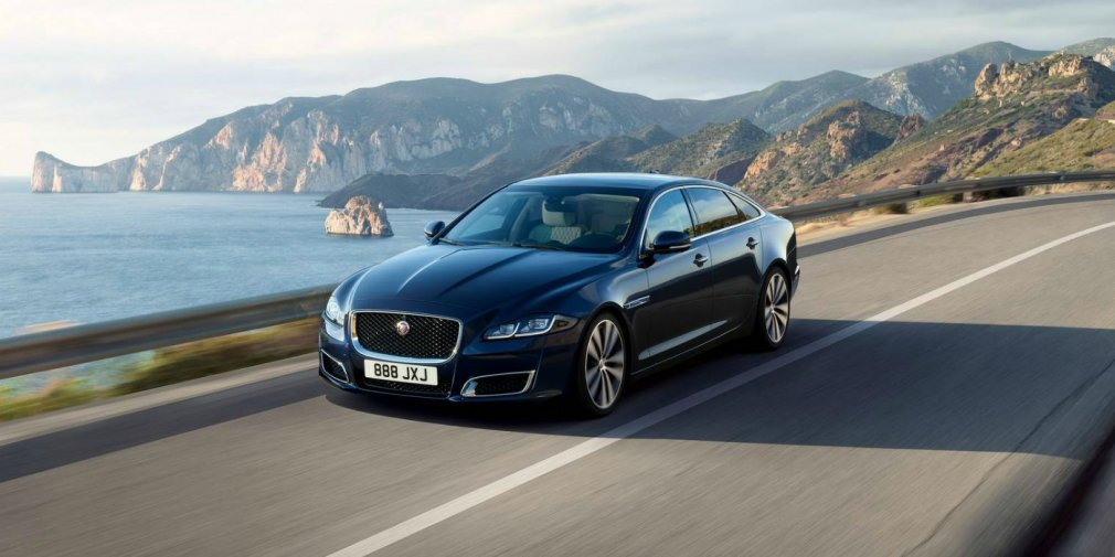 Jaguar снимет с производства флагманский седан XJ 1