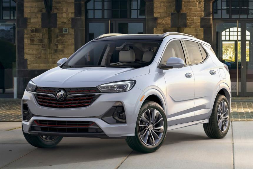 Кроссовер Buick Encore GX придет в Америку из Китая 1