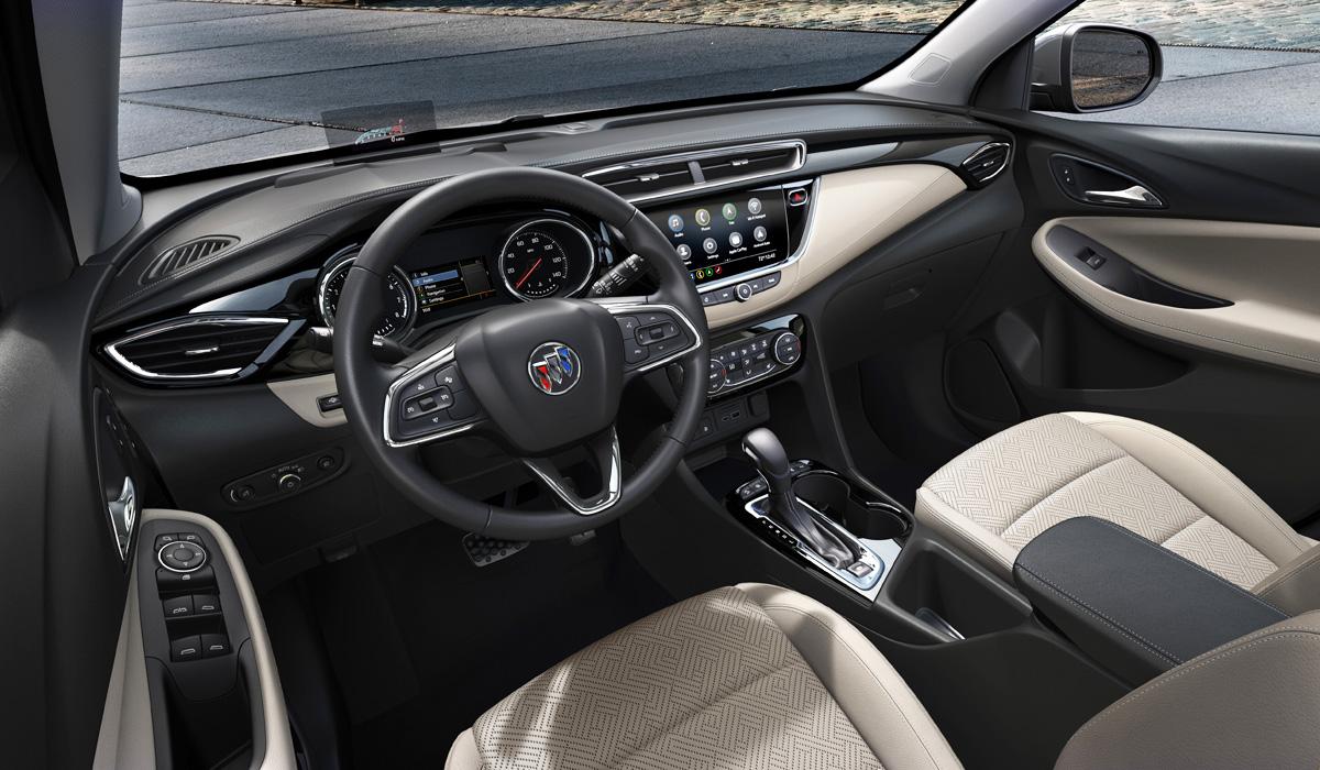 Кроссовер Buick Encore GX придет в Америку из Китая 3