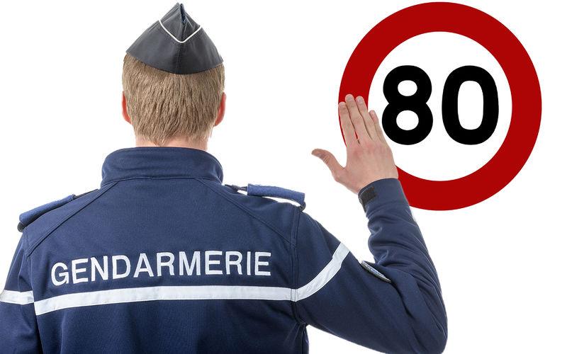 Французы отвоевали право ездить со скоростью 90 км/ч 1