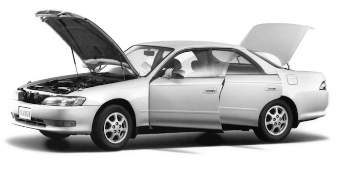 Toyota Mark II названа самым выносливым «японцем» из 90-х 1