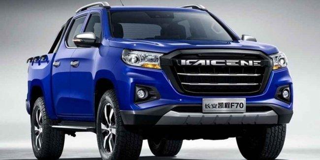 Новый пикап Peugeot станет «клоном» китайского Changan F70 1