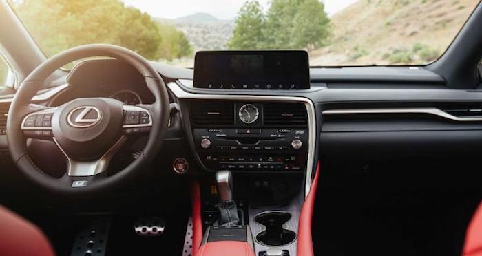 Кроссоверы Lexus RX и RXL пережили рестайлинг 1